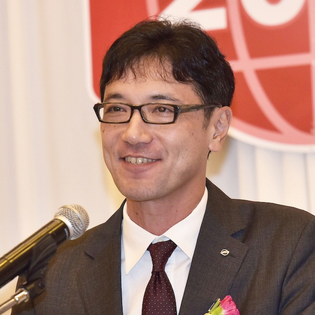 คะซุทากะ นัมบุ ประธาน บริษัท นิสสัน มอเตอร์ (ประเทศไทย) จำกัด
