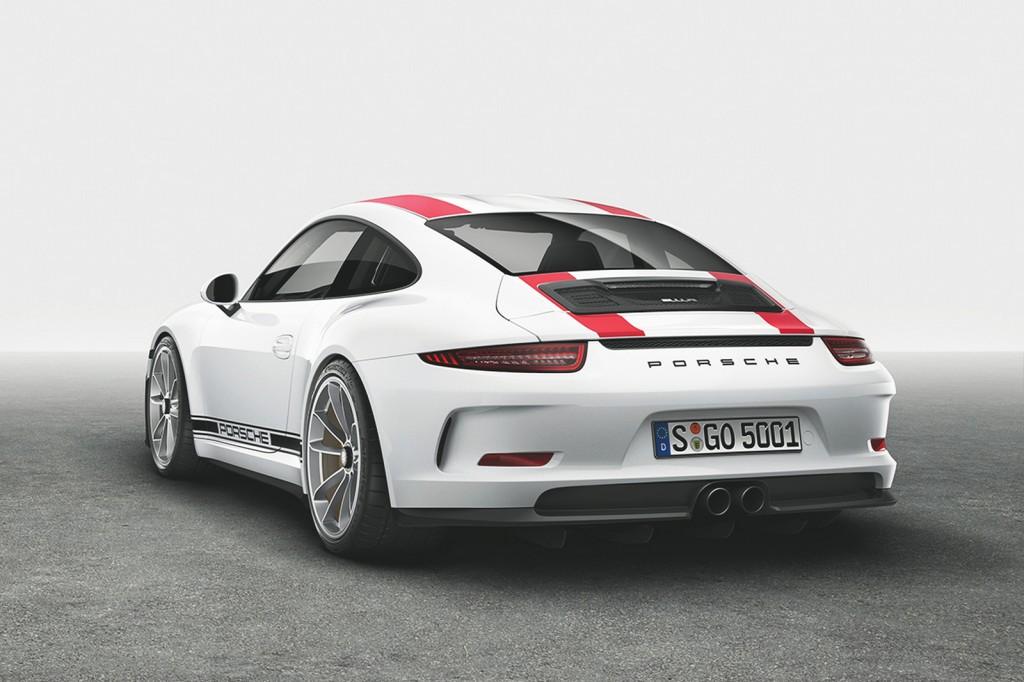 PORSCHE 911 R 8