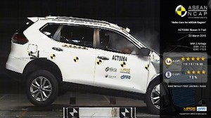 001-X-Trail 5 Star ASEAN NCAP