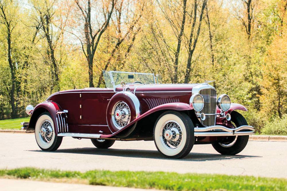 1929-Duesnberg-Model-J-1-รถโบราณ