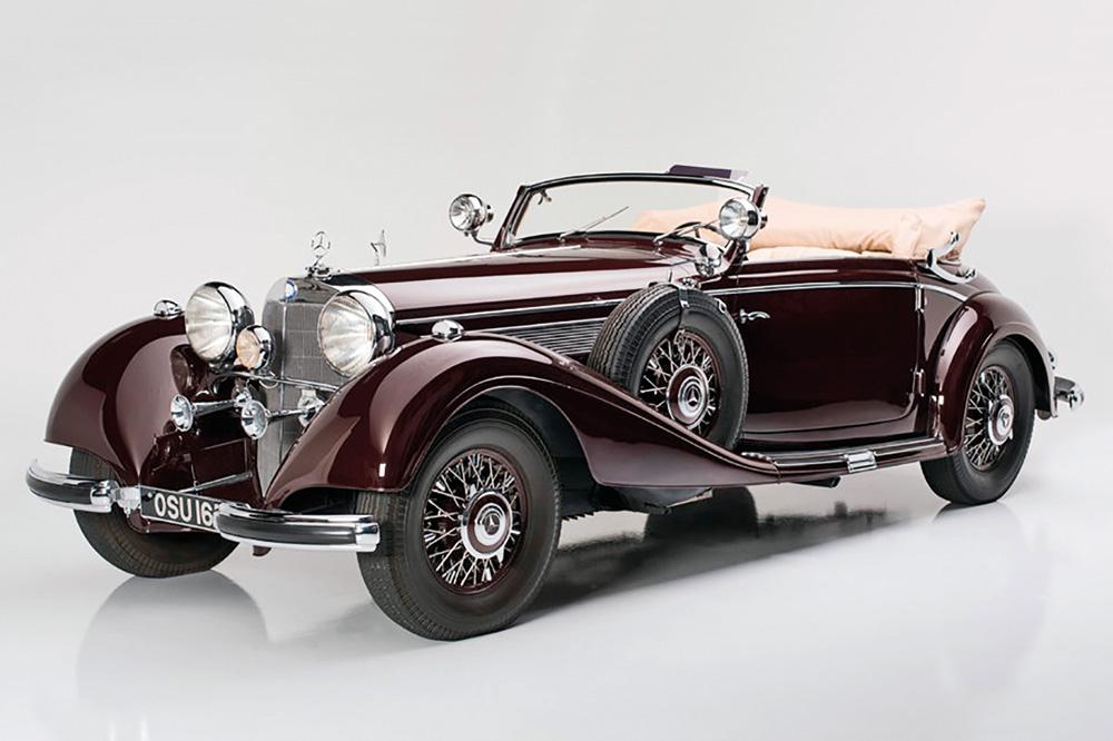 1939-Mercedes-Benz-540K-Cabriolet-A-รถก่อนสงคราม