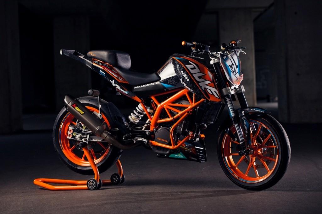 KTM 200 DUKE_ROK BAGAROS customized
