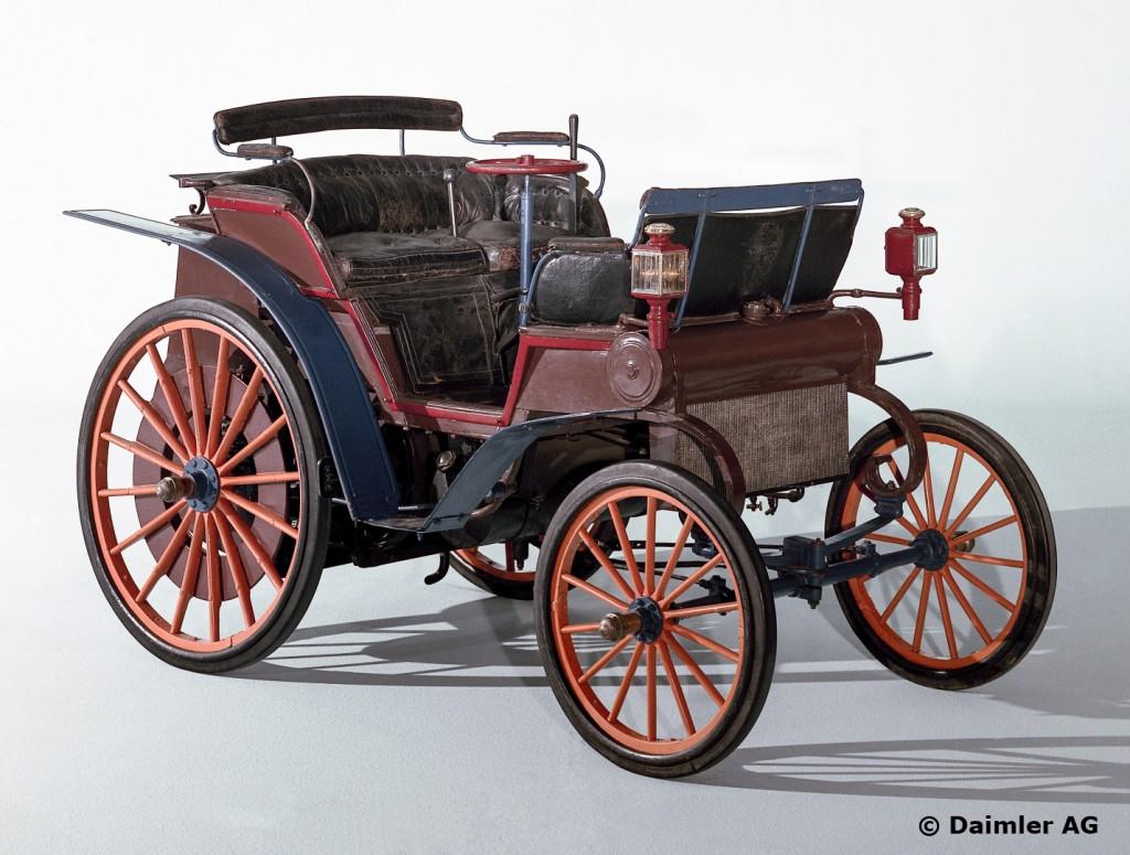 Daimler Riemenwagen aus dem Jahre 1897