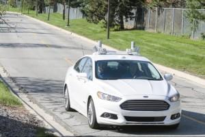 Ford เปิดตัวเทคโนโลยีไร้คนขับ