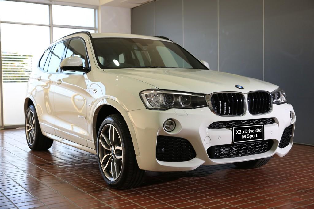 BMW X3 xDrive 20d (1)