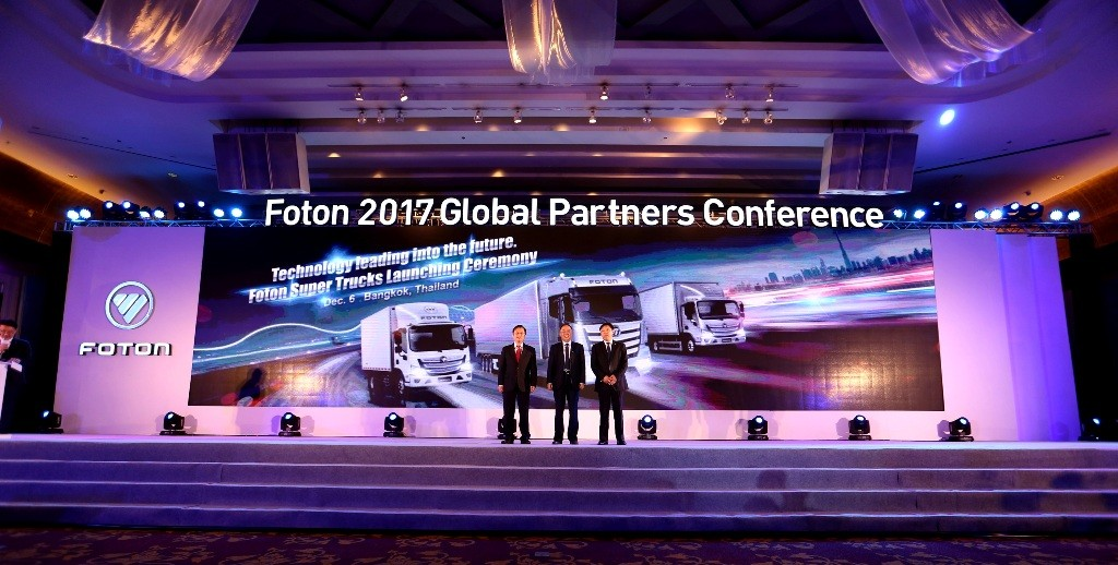 4. FOTON SUPER TRUCKS LAUNCHED IN THAILAND