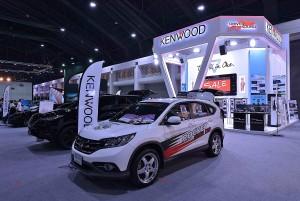 Promotion พิเศษชุดเล็ก-ใหญ่ที่บูธ Kenwood ในงาน Motor Expo ครั้งที่ 33