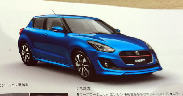 Next-gen-Suzuki-Swift-leaked-brochure-lead