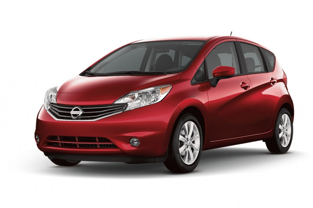 The 2016 Versa Note is offered in a range of five well-equipped models: S, S Plus, SV, SR and SL. Each is powered by a 1.6-liter DOHC 16-valve 4-cylinder engine. Versa Note S features a 5-speed manual transmission. The S Plus, SV, SR and SL models are equipped with a next-generation Nissan Xtronic transmission, helping them achieve 40 miles per gallon highway fuel economy.
