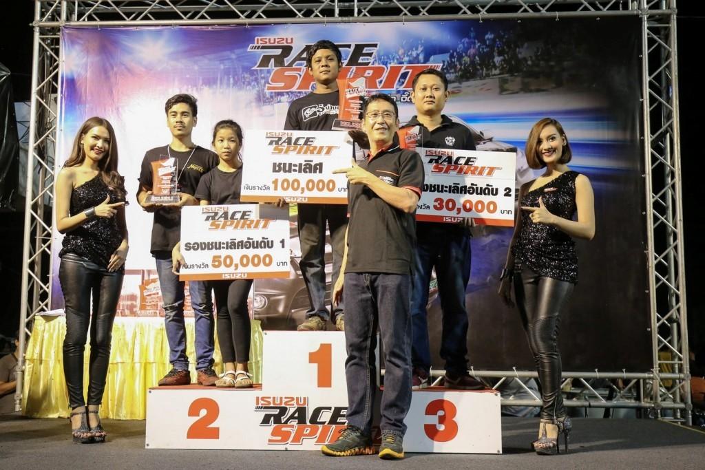 ผู้ชนะเลิศ รุ่น All-New Isuzu Turbo 44mm