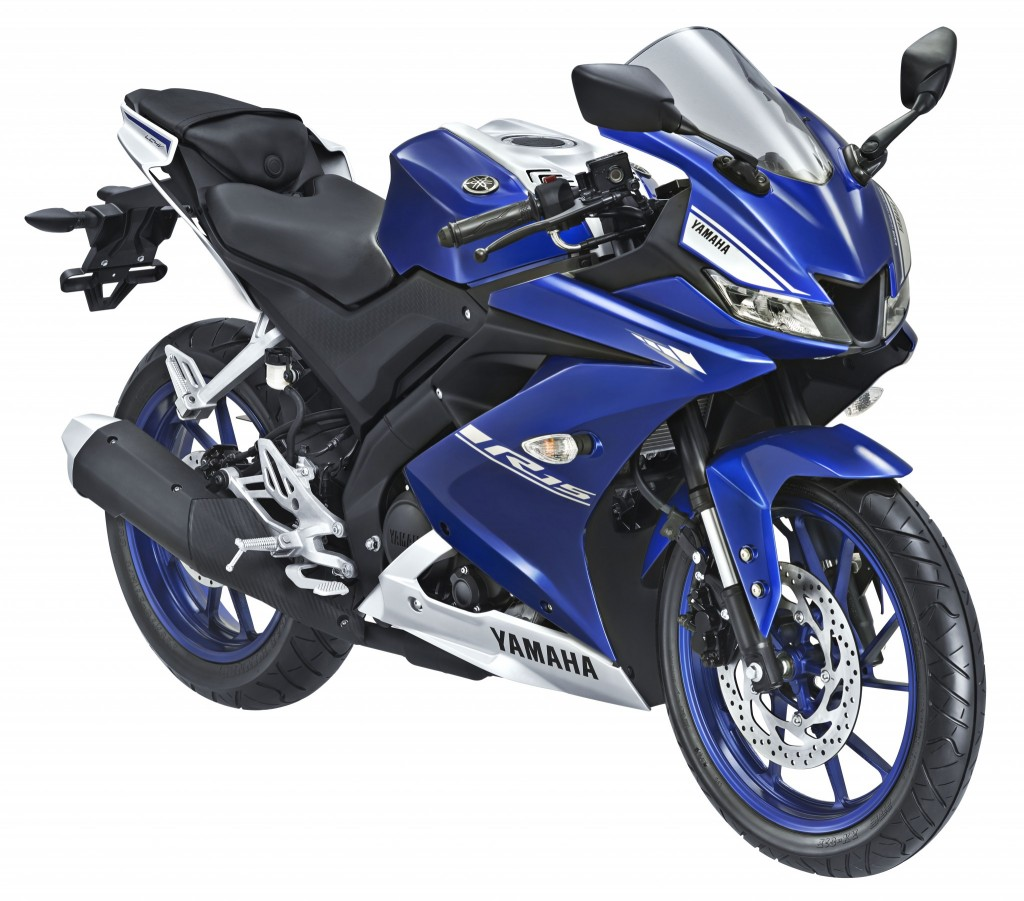 All New YZF-R15 2017 Blue