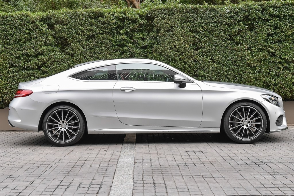 C 250 Coupe AMG Dynamic_Silver_Exterior (3)