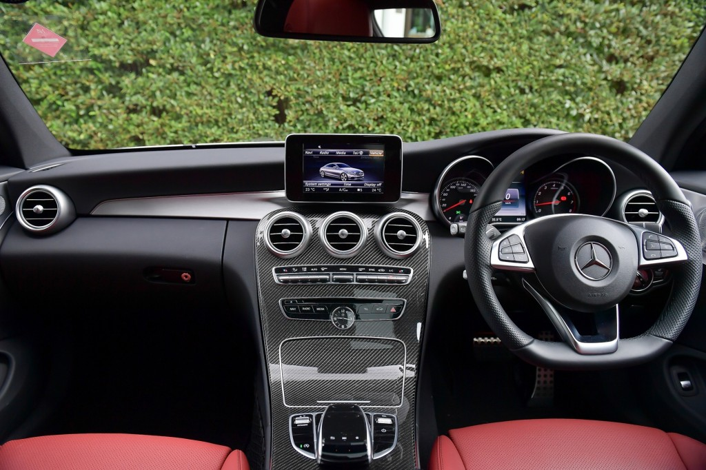 C 250 Coupe AMG Dynamic_Silver_Interior (1)