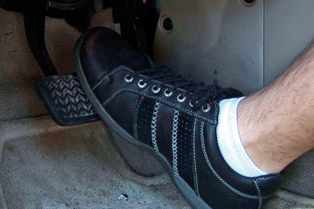 Foot-on-Brake