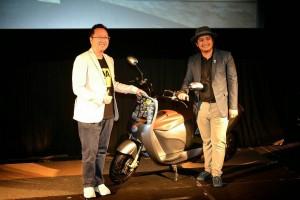 อีทราน (ไทยแลนด์)ฯ เปิดตัวรถจักรยานยนต์ไฟฟ้าเพื่อการบริการสาธารณะ Etran Prom