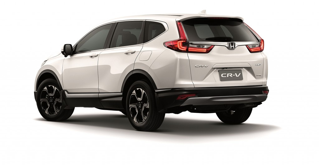 All-new Honda CR-V_Petrol_Rear