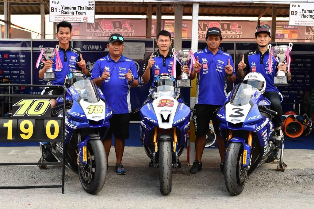 01 ยามาฮ่าคว้าชัยศึกชิงแชมป์ประเทศไทย สนามแรก copy