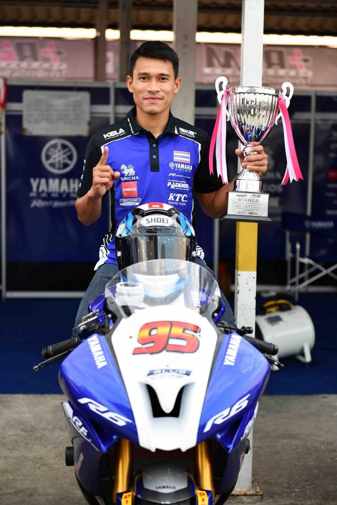04 ยามาฮ่าคว้าชัยศึกชิงแชมป์ประเทศไทย สนามแรก.