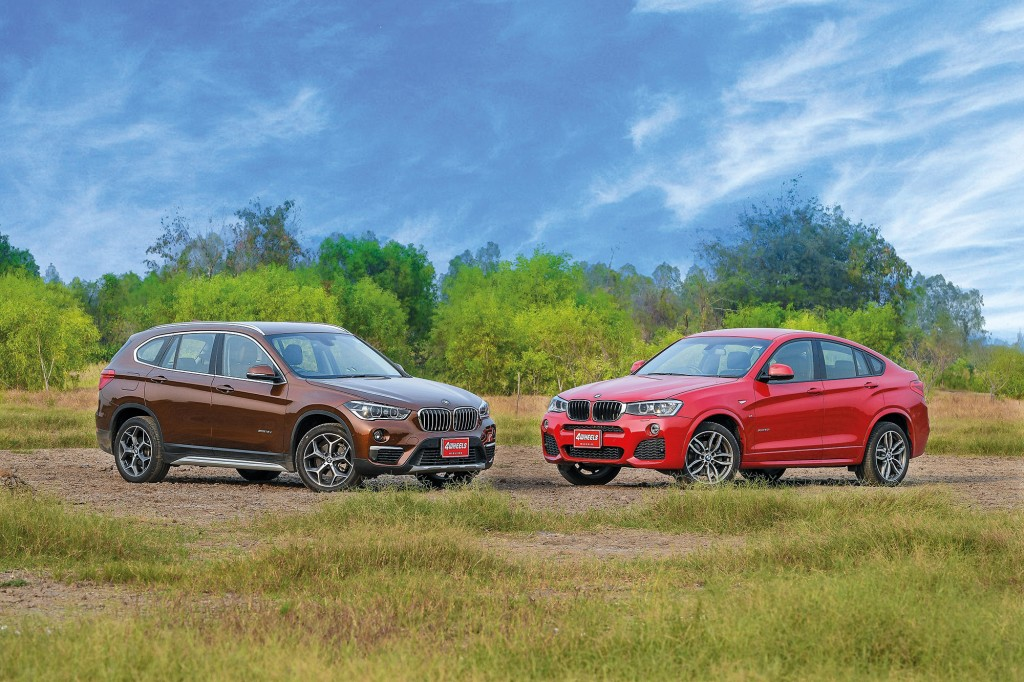 BMW X1 SDRIVE 18D และ X4 XDRIVE 20I M SPORT