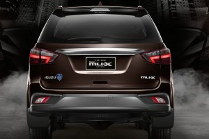 THE NEW ISUZU MU-X BLUE POWER