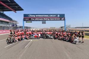 เอ.พี. ฮอนด้าฯ ชวนสัมผัส DNA รถแข่ง MotoGP สู่ท้องถนน