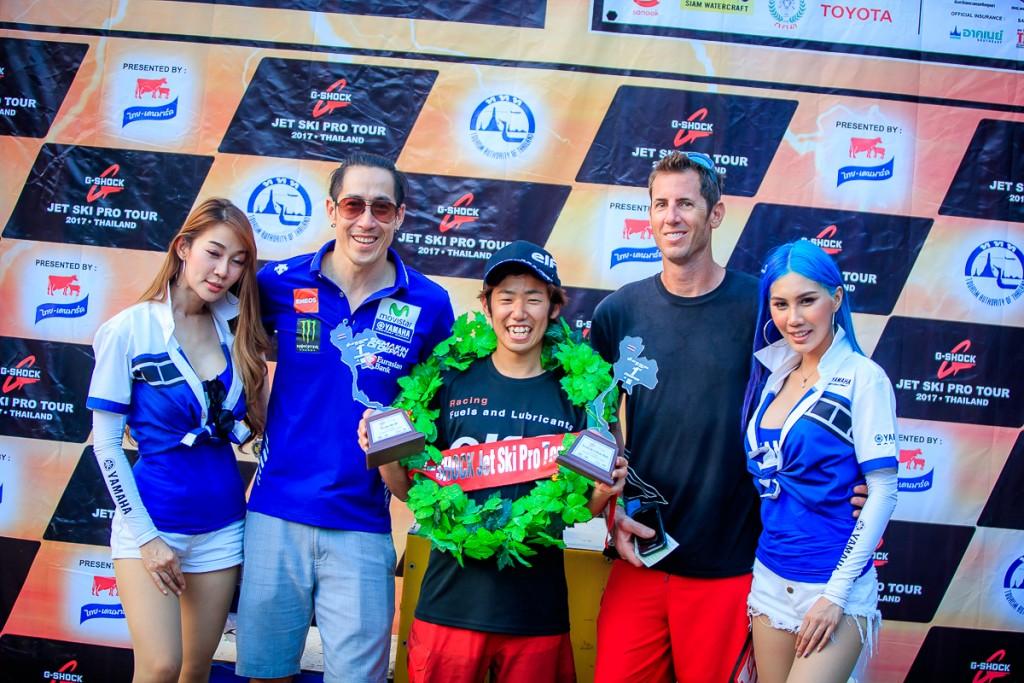 07 Yamaha WaveRunner ประกาศศักดากวาดชัย 3 รุ่น Pro Tour 2017 สนามที่ 2