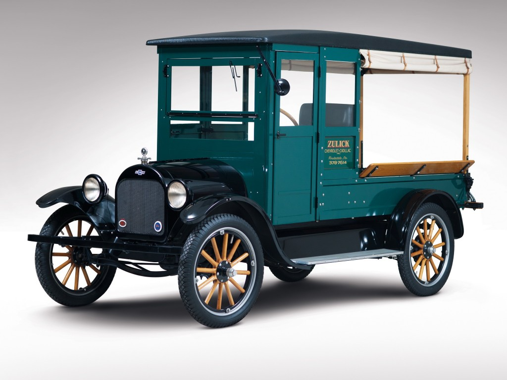2. 1922 Chevrolet Canopy Truck