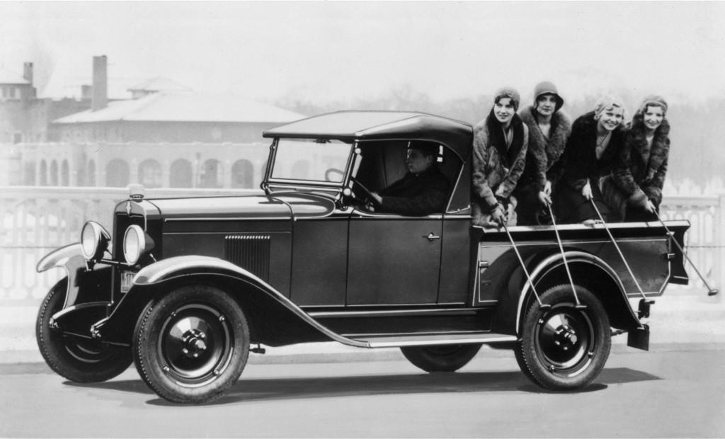 3. 1930 Chevrolet Roadster Truck