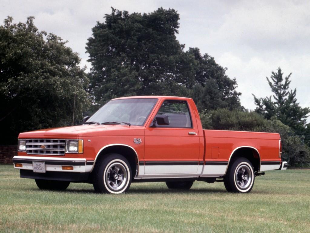 9. Chevrolet S10 (1982)