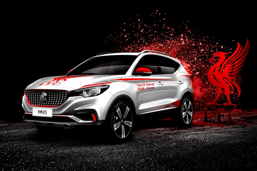 MG ZS 'Liverpool Version'