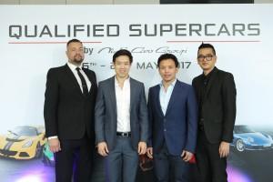 นิช คาร์ กรุ๊ปฯ ยกทัพขบวนรถซูเพอร์คาร์มือสองสภาพเยี่ยม ร่วมงาน Qualified Supercars by Niche Cars Group