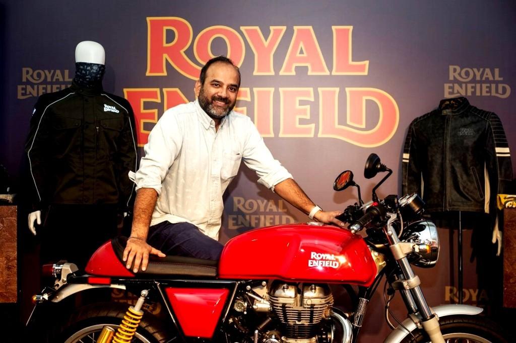 Rudratej Singh, President, Royal Enfield