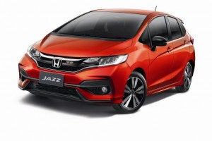 Honda Jazz รุ่นปรับโฉม เพิ่มรุ่นย่อย RS และ RS+ สปอร์ทกว่าเดิม