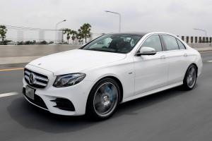 "Mercedes-Benz E350e รถยนต์รุ่นล่าสุดภายใต้บแรนด์ ""EQ–Electric Intelligence by Mercedes-Benz"""