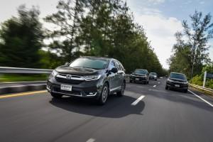 ทดลองขับ Honda CR-V DT-EL 4WD & 2.4 EL 4WD