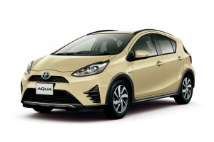 Toyota Aqua หรือ Prius C ปรับโฉมเพิ่มรุ่น Crossover ให้รถยนต์ไฮบริดรุ่นเล็ก