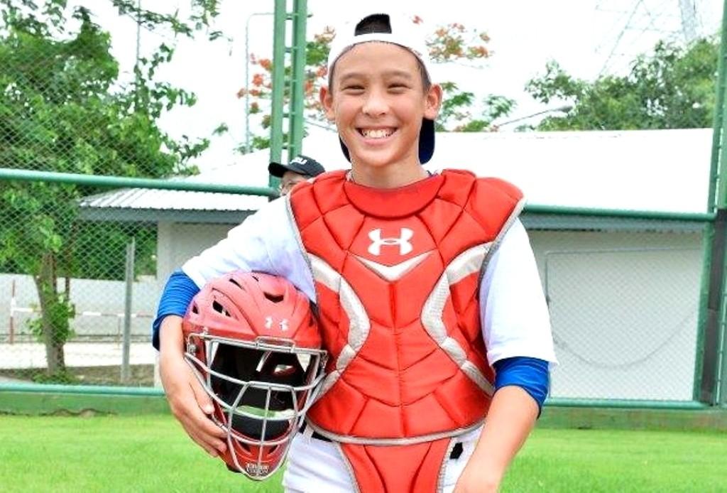 ด.ช. คิน คิดเวล หนึ่งในนักกีฬาเบสบอลยุวชนทีมชาติไทย