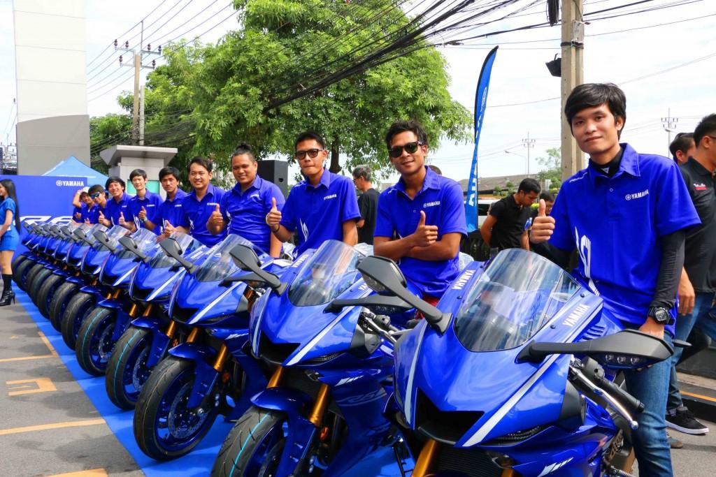 07 ยามาฮ่าพร้อมส่งมอบ Yamaha YZF-R6 ล็อตแรกทั่วประเทศ อย่างยิ่งใหญ่
