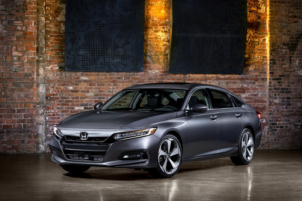 10 - 2018 Honda Accord Touring