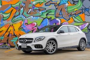 Mercedes-AMG GLA 45 4MATIC คอมแพคท์เอสยูวีคันแรงโฉมใหม่
