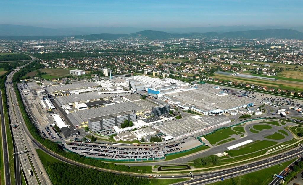 Magna contract manufacturing complex_Graz Austria