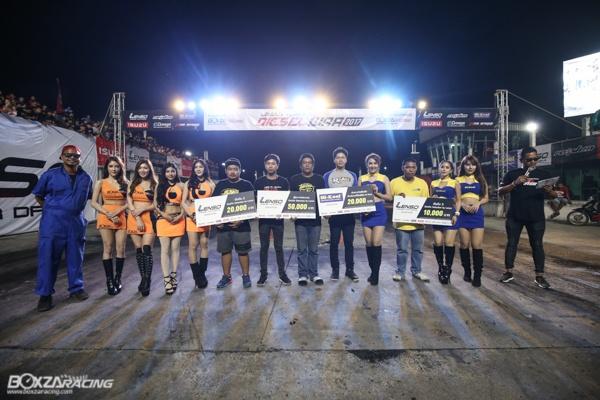 Lenso Raiden Diesel War 2017 สร้างปรากฏการณ์ดีเซลเมืองไทย ทำลายสถิติรถดีเซลที่เร็วที่สุดในประเทศไทย