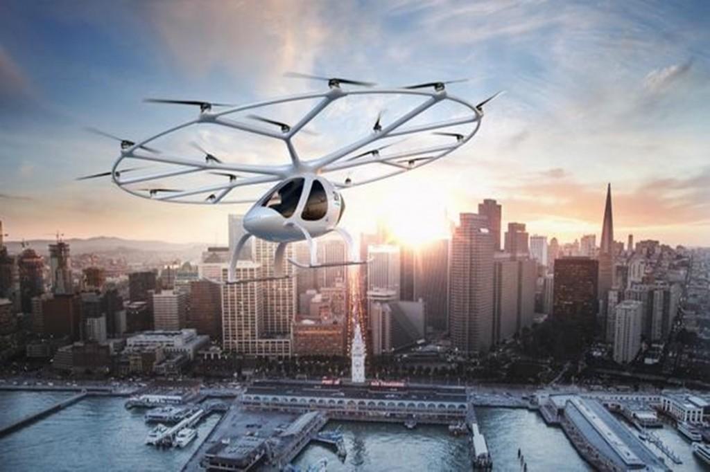 Daimler ลงทุนพัฒนา Drone Taxi
