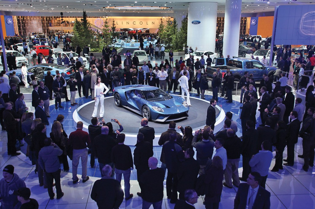 (Jan 2015) Detroit, MI. North American International Auto Show