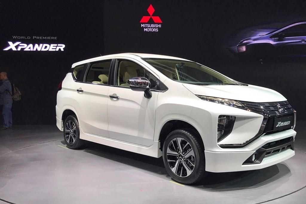 เผยโฉม Mitsubishi Xpander โดยทีมงานของเราในงาน Gaikindo Indonesia International Auto Show 2017