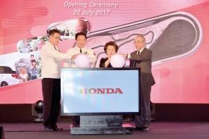 ฮอนดา เปิดสนามทดสอบรถในไทย