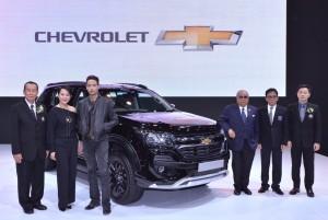 เชฟโรเลต์ เปิดตัว ทเรลบเลเซอร์ เซด 71 ในงาน Big Motor Sale 2017