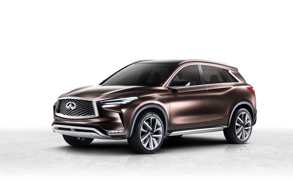 日産自動車株式会社(本社:神奈川県横浜市西区、社長:カルロス ゴーン)は9日、2017年北米国際自動車ショーにて、インフィニティの次世代中型プレミアムSUVのビジョンを示す「QX50コンセプト」を世界初公開しました。