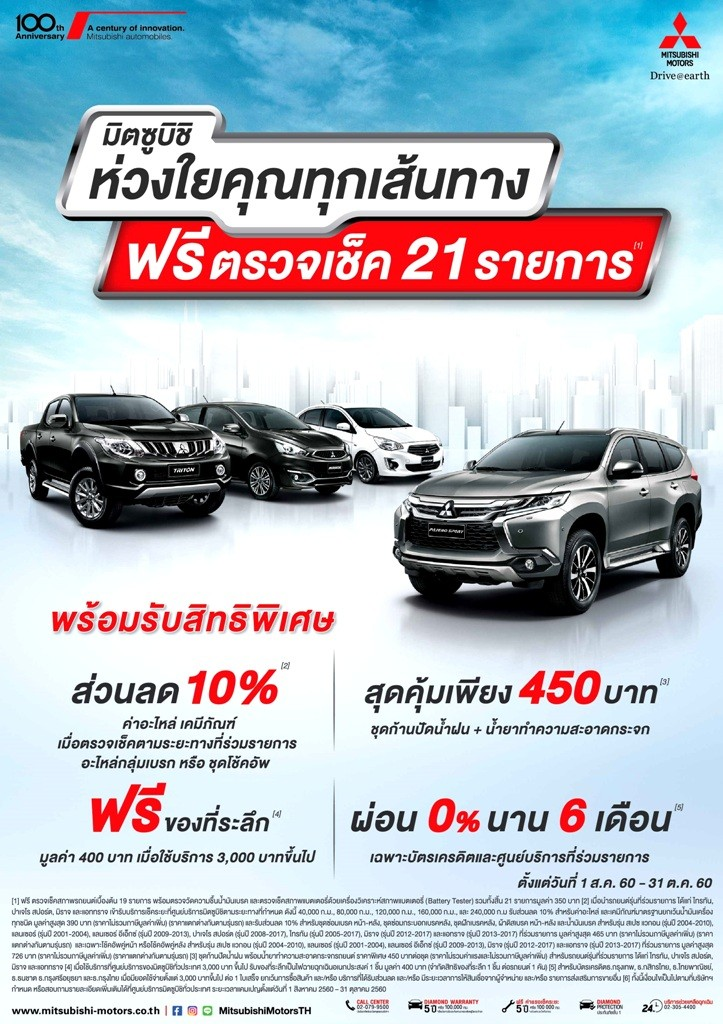 Mitsubishi aftersales campaign