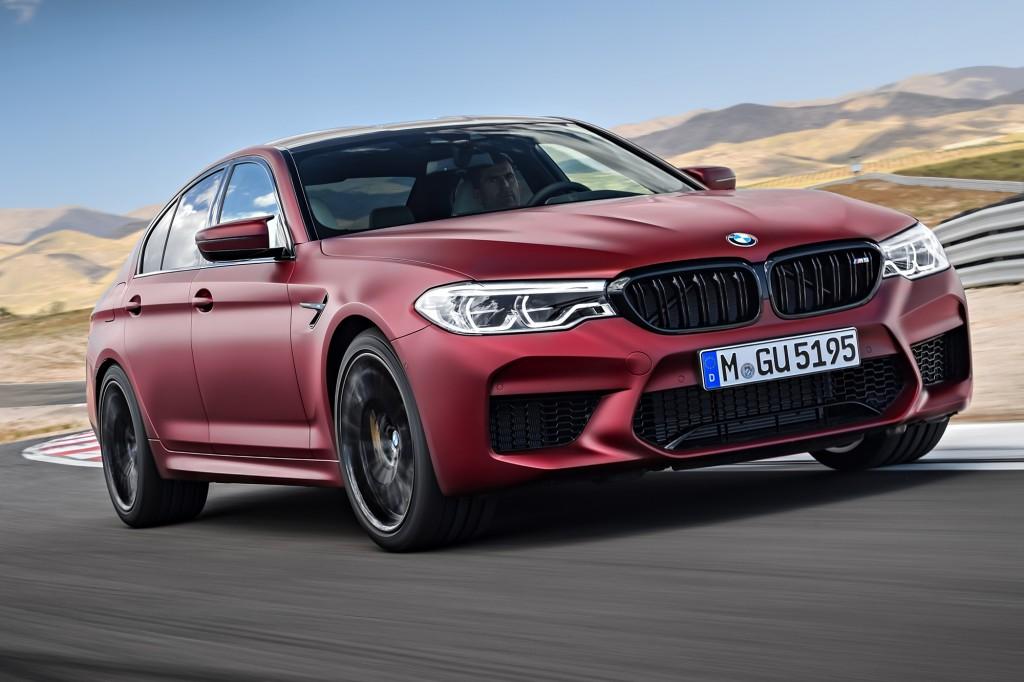 BMW M5 สปอร์ทซีดานพลังสูง 0-100 กม./ชม. ใน 3.4 วินาที !!